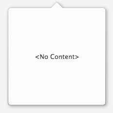 Attached PopOver